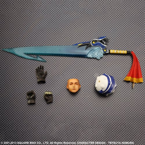 Image 2 for Final Fantasy X - Tidus - Play Arts Kai (Square Enix)