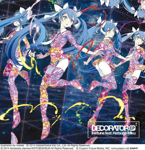 Image 1 for DECORATOR EP / livetune feat. Hatsune Miku