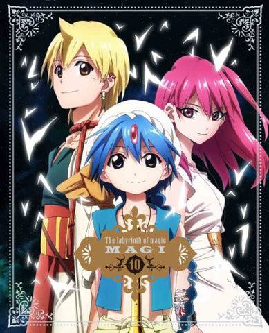 Image for Magi: The Labyrinth Of Magic Vol.10 [DVD+CD Limited Edition]
