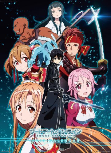 Image 1 for Sword Art Online - Wall Calendar - 2013 (Ensky)[Magazine]