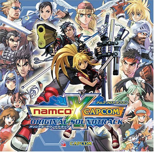 Image 1 for Namco x Capcom Original Soundtrack