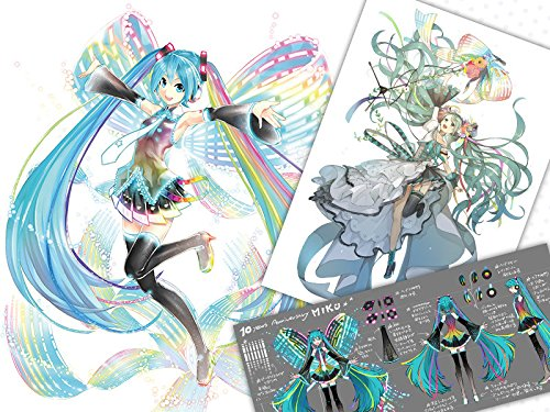 Vocaloid - Hatsune Miku - 1/7 - 10th Anniversary Ver. - Memorial Box