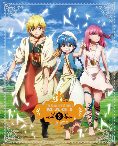 Image 2 for Magi The Labyrinth Of Magic 2 [DVD+CD Limited Edition]