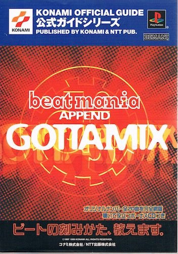 Image 1 for Beatmania Append Gotta Mix Official Guide Book / Ps