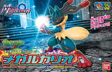 Thumbnail 5 for Pocket Monsters - Lucario - 35 - Mega Evolution (Bandai)