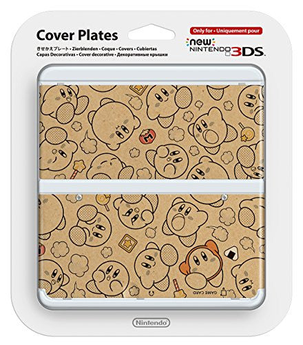 Image 1 for New Nintendo 3DS Cover Plates No. 58 (Kirby)