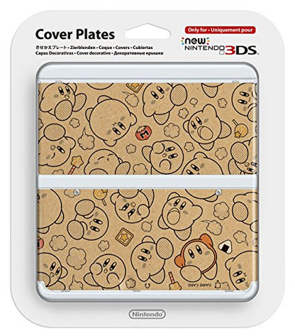 New Nintendo 3DS Cover Plates No. 58 (Kirby)
