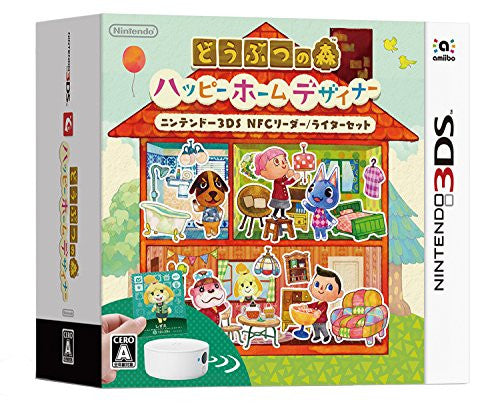 Image 12 for Doubutsu no Mori: Happy Home Designer [NFC Reader & Writer Bundle Set]