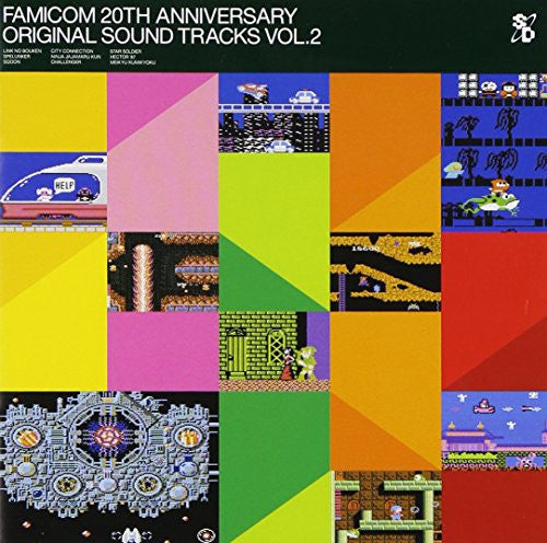 Image 1 for FAMICOM 20TH ANNIVERSARY ORIGINAL SOUND TRACKS VOL.2