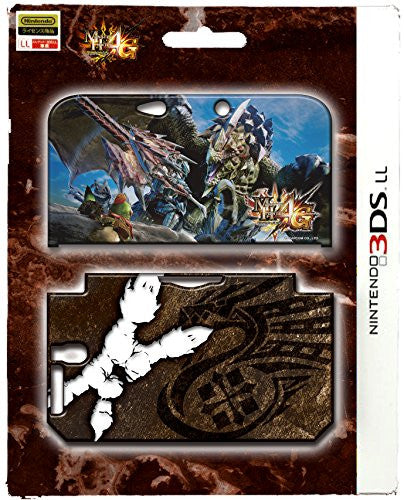 Image 1 for Monster Hunter 4G Cover for 3DS LL