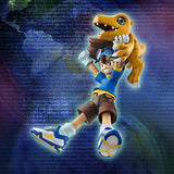 Thumbnail 3 for Digimon Adventure - Agumon - Yagami Taichi - G.E.M. - 1/10 - Re-release (MegaHouse)