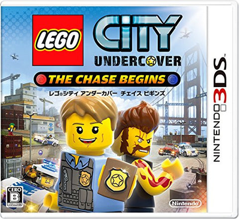 Image for LEGO City Undercover: The Chase Begins