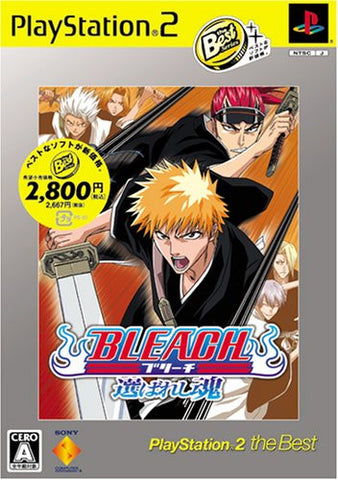 bleach selected soul ps2 iso