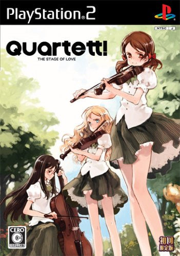 Image 1 for Quartet! The Stage of Love [Limited Edition]