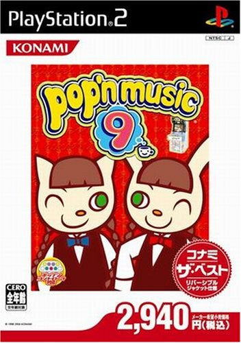 Image 1 for Pop'n Music 9 (Konami the Best)