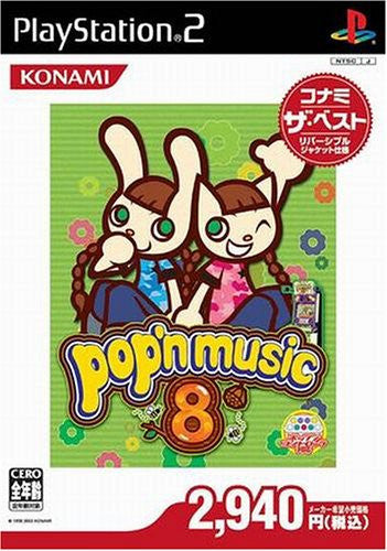 Image 1 for Pop'n Music 8 (Konami the Best)