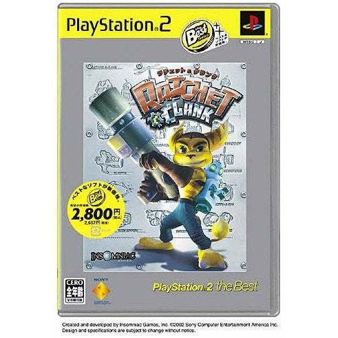 Image 1 for Ratchet & Clank (PlayStation2 the Best)