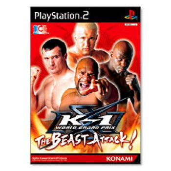 Image for K-1 World Grand Prix - The Beast Attack!