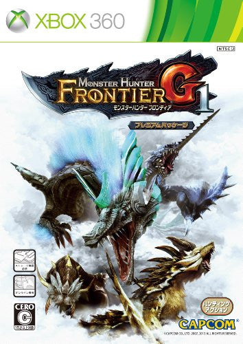 Image 1 for Monster Hunter Frontier G1 Premium Package
