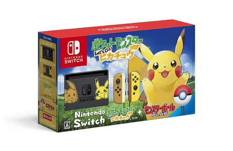 Nintendo Switch Pokemon Let's GO! Special Edition Pikachu