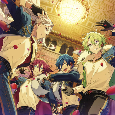 Ensemble Stars! - Ran Nagisa - Saegusa Ibara - Sazanami Jun - Tomoe Hiyori - Album - Character Song - Ensemble Stars! Album Series - 13 - Eden - First Press Limited Edition (Frontier Works)