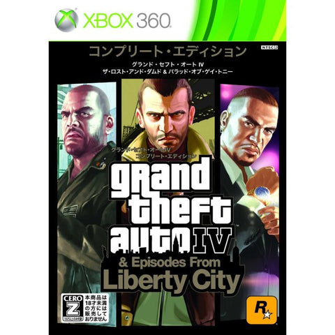 Image for Grand Theft Auto IV: The Complete Edition (Rockstar Classics)