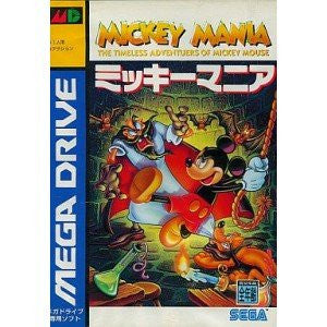 Image for Mickey Mania: The Timeless Adventures of Mickey Mouse