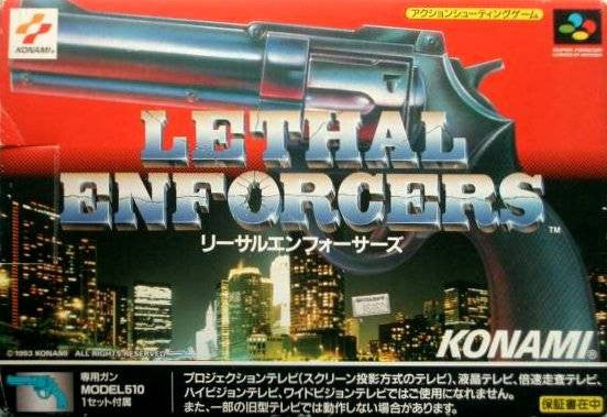 Image 1 for Lethal Enforcers [Box Set /w lightgun]