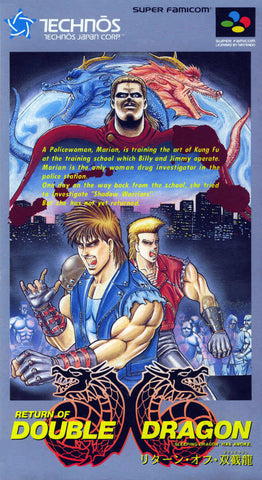 Image for Return of Double Dragon