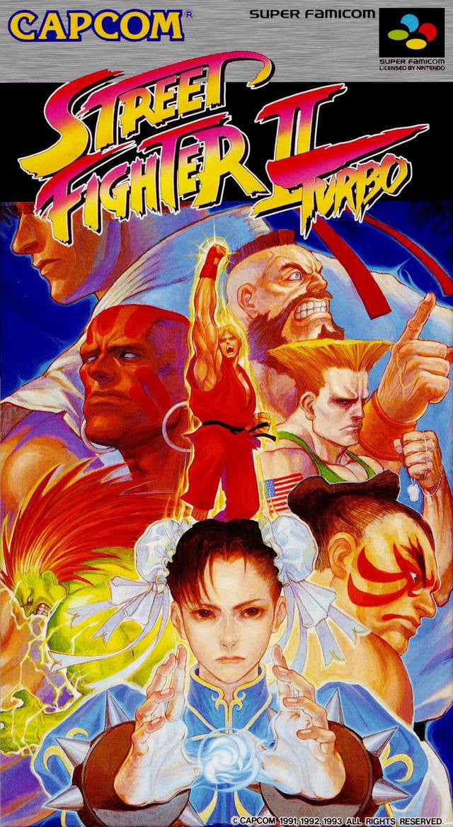 Image 1 for Street Fighter II Turbo