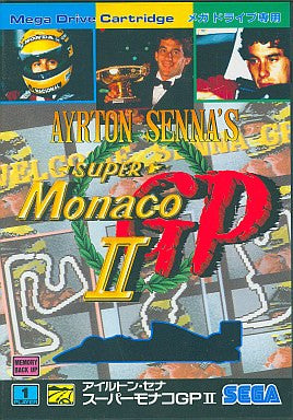 Image for Ayrton Senna's Super Monaco GP II