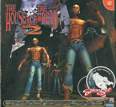 Image for The House of the Dead 2 (Gun Set)