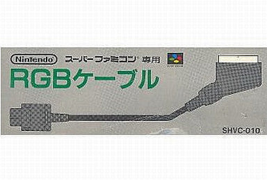 Image for Super Famicom RGB Cable