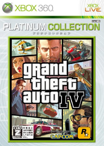 Image 1 for Grand Theft Auto IV (Platinum Collection)