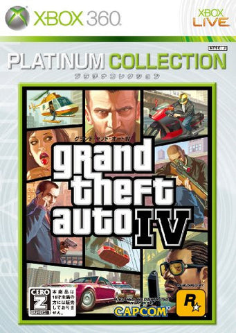 Grand Theft Auto IV (Platinum Collection)