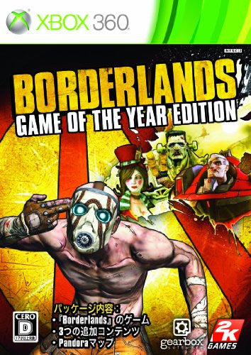 Image 1 for Borderlands: Game of the Year Edition