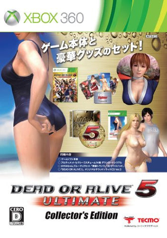 Image for Dead or Alive 5 Ultimate [Collector's Edition]