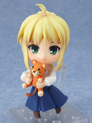 Fate/Stay Night - Saber - Nendoroid #225 - Full Action Plain Clothes Ver. (Good Smile Company, Hobby Japan)