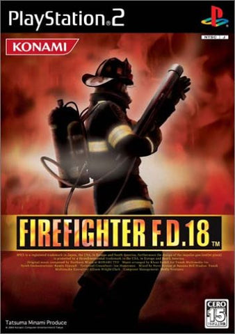 Image for Firefighter F.D. 18