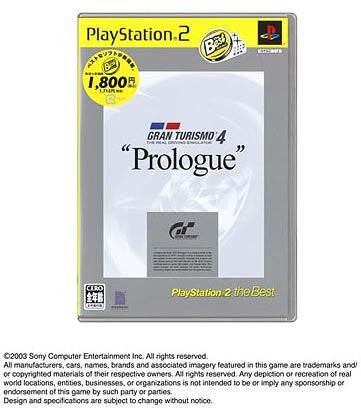 Image for Gran Turismo 4 Prologue (PlayStation2 the Best)