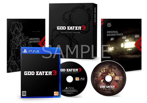GOD EATER 3 Initial limited edition