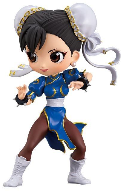 Street Fighter - Chun-Li - Q Posket - Normal and Rare Color Ver. - Set of 2 Figures (Bandai Spirits)