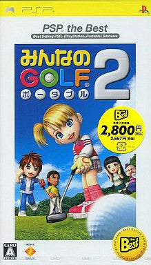 Image 1 for Minna no Golf Portable 2 (PSP the Best)