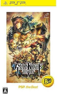 Image 1 for Grand Knights History (PSP the Best)