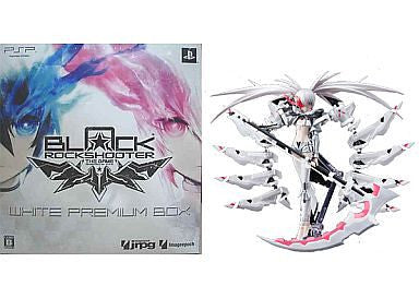 Black ★ Rock Shooter - The Game - White ★ Rock Shooter - Figma #SP-033