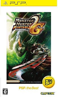 Image 1 for Monster Hunter Portable 2nd G [PSP the Best New Price Version]