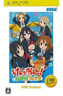 Image 1 for K-On! Houkago Live!! (PSP the Best)