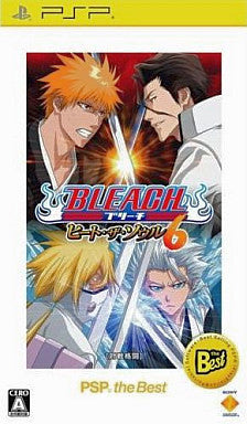 Image for Bleach: Heat the Soul 6 (PSP the Best)