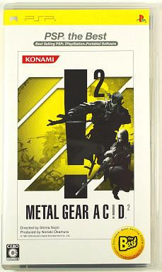 Image 1 for Metal Gear Acid 2 (PSP the Best)