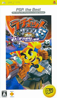 Image for Ratchet & Clank Gekitotsu! Dodeka Ginga no MiriMiri Gundan (PSP the Best)